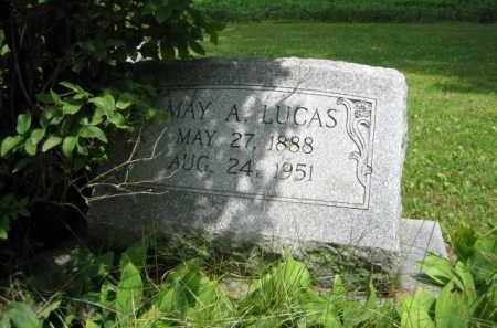 LUCAS, MAY A. - Champaign County, Ohio | MAY A. LUCAS - Ohio Gravestone Photos