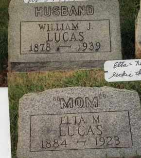 LUCAS, ELTA MAY - Champaign County, Ohio | ELTA MAY LUCAS - Ohio Gravestone Photos