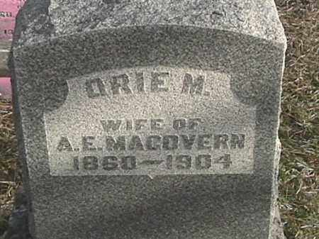 MACOVERN, ORIE M. - Champaign County, Ohio | ORIE M. MACOVERN - Ohio Gravestone Photos