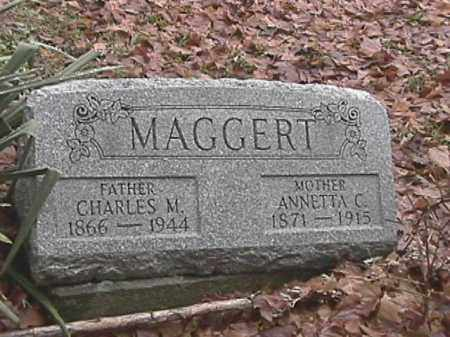 MAGGERT, ANNETTA C. - Champaign County, Ohio | ANNETTA C. MAGGERT - Ohio Gravestone Photos