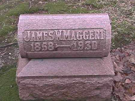 MAGGERT, JAMES W. - Champaign County, Ohio | JAMES W. MAGGERT - Ohio Gravestone Photos
