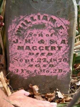MAGGERT, WILLIAM F. - Champaign County, Ohio   WILLIAM F. MAGGERT - Ohio Gravestone Photos