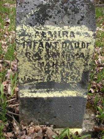MAHAN, ALMIRA - Champaign County, Ohio | ALMIRA MAHAN - Ohio Gravestone Photos