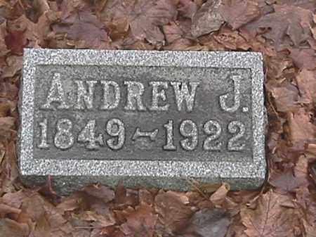MAHAN, ANDREW J. - Champaign County, Ohio | ANDREW J. MAHAN - Ohio Gravestone Photos