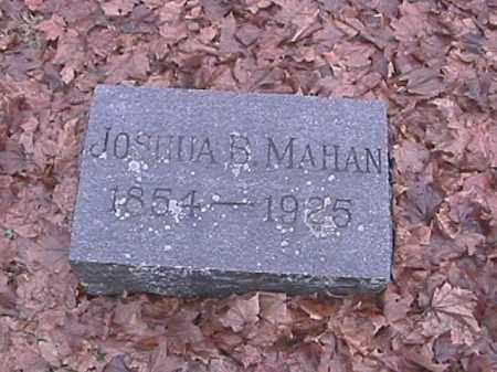 MAHAN, JOSHUA B. - Champaign County, Ohio | JOSHUA B. MAHAN - Ohio Gravestone Photos