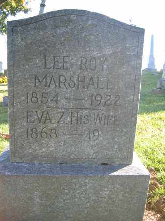 MARSHALL, EVA Z. - Champaign County, Ohio | EVA Z. MARSHALL - Ohio Gravestone Photos