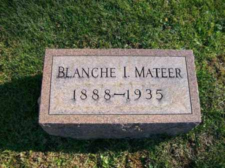 MATEER, BLANCCHE I - Champaign County, Ohio | BLANCCHE I MATEER - Ohio Gravestone Photos