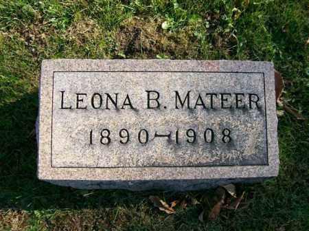 MATEER, LEONA B. - Champaign County, Ohio | LEONA B. MATEER - Ohio Gravestone Photos