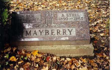 BATES MAYBERRY, BERTHA ETHEL - Champaign County, Ohio | BERTHA ETHEL BATES MAYBERRY - Ohio Gravestone Photos