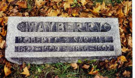 BARKMAN MAYBERRY, SARAH E. - Champaign County, Ohio | SARAH E. BARKMAN MAYBERRY - Ohio Gravestone Photos