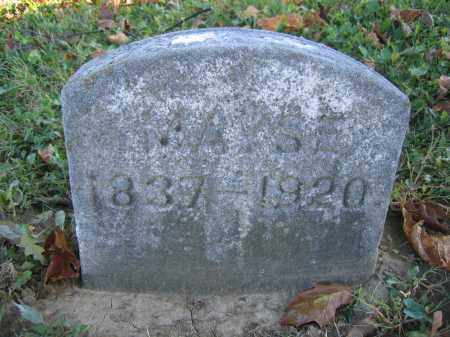 MAYSE, MALINDA - Champaign County, Ohio | MALINDA MAYSE - Ohio Gravestone Photos