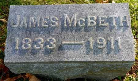 MCBETH, JAMES - Champaign County, Ohio | JAMES MCBETH - Ohio Gravestone Photos