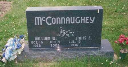 MCCONNAUGHEY, WILLIAM W. - Champaign County, Ohio | WILLIAM W. MCCONNAUGHEY - Ohio Gravestone Photos