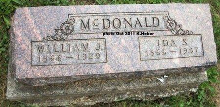 ANDERSON MCDONALD, IDA S - Champaign County, Ohio | IDA S ANDERSON MCDONALD - Ohio Gravestone Photos