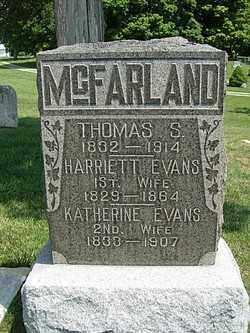 MCFARLAND, THOMAS S. - Champaign County, Ohio | THOMAS S. MCFARLAND - Ohio Gravestone Photos