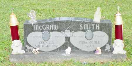 MCGRAW, CODY LEE SMITH - Champaign County, Ohio | CODY LEE SMITH MCGRAW - Ohio Gravestone Photos