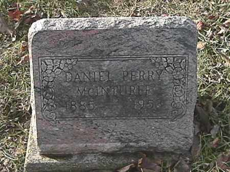 MCINTURFF, DANIEL PERRY - Champaign County, Ohio | DANIEL PERRY MCINTURFF - Ohio Gravestone Photos