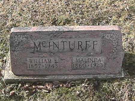 HOUSER MCINTURFF, MALINDA - Champaign County, Ohio | MALINDA HOUSER MCINTURFF - Ohio Gravestone Photos