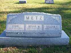 METZ, MINNIE - Champaign County, Ohio | MINNIE METZ - Ohio Gravestone Photos