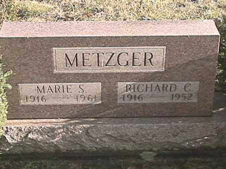 METZGER, RICHARD C. - Champaign County, Ohio | RICHARD C. METZGER - Ohio Gravestone Photos