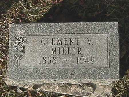 MILLER, CLEMENT V. - Champaign County, Ohio | CLEMENT V. MILLER - Ohio Gravestone Photos