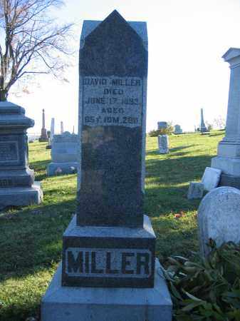 MILLER, DAVID - Champaign County, Ohio | DAVID MILLER - Ohio Gravestone Photos