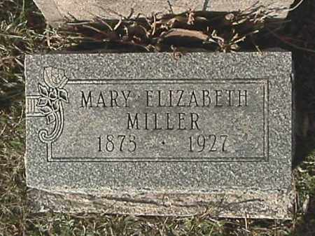 MILLER, MARY ELIZABETH - Champaign County, Ohio | MARY ELIZABETH MILLER - Ohio Gravestone Photos