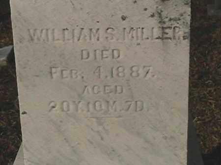 MILLER, WILLIAM S. - Champaign County, Ohio | WILLIAM S. MILLER - Ohio Gravestone Photos