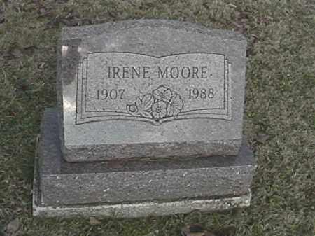 MOORE, IRENE - Champaign County, Ohio | IRENE MOORE - Ohio Gravestone Photos
