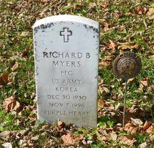 MYERS, RICHARD B. - Champaign County, Ohio | RICHARD B. MYERS - Ohio Gravestone Photos