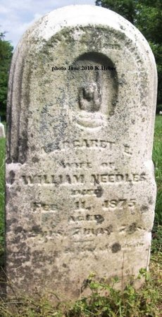 APPLE NEEDLES, MARGARET E - Champaign County, Ohio | MARGARET E APPLE NEEDLES - Ohio Gravestone Photos
