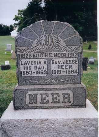 NEER, REV. JESSE - Champaign County, Ohio | REV. JESSE NEER - Ohio Gravestone Photos