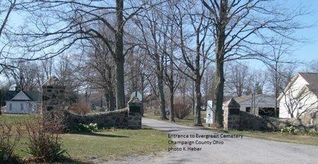 NEHER, NETTIE E - Champaign County, Ohio | NETTIE E NEHER - Ohio Gravestone Photos