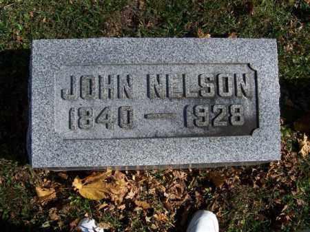 NELSON, JOHN - Champaign County, Ohio | JOHN NELSON - Ohio Gravestone Photos