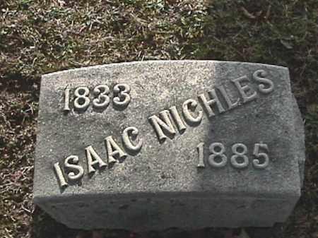 NICHLES, ISAAC - Champaign County, Ohio | ISAAC NICHLES - Ohio Gravestone Photos