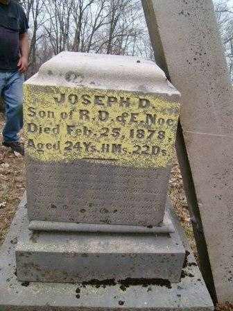 NOE, JOSEPH D. - Champaign County, Ohio | JOSEPH D. NOE - Ohio Gravestone Photos