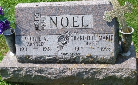 ALLEN NOEL, CHARLOTTE MARIE - Champaign County, Ohio | CHARLOTTE MARIE ALLEN NOEL - Ohio Gravestone Photos