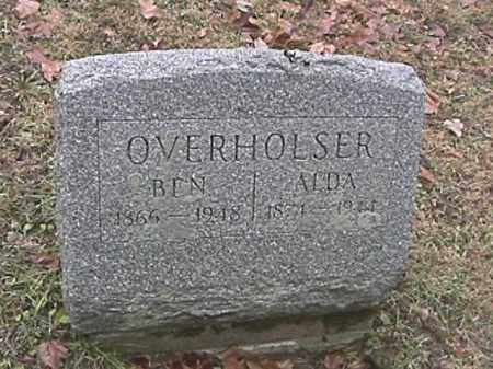 OVERHOLSER, BENJAMIN - Champaign County, Ohio | BENJAMIN OVERHOLSER - Ohio Gravestone Photos