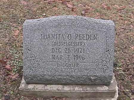 PEEDEN, JUANITA OPAL - Champaign County, Ohio | JUANITA OPAL PEEDEN - Ohio Gravestone Photos