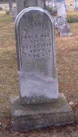 PENCE, ABRAHAM - Champaign County, Ohio | ABRAHAM PENCE - Ohio Gravestone Photos