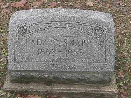 PENCE, ADA OLIVE SNAPP - Champaign County, Ohio | ADA OLIVE SNAPP PENCE - Ohio Gravestone Photos