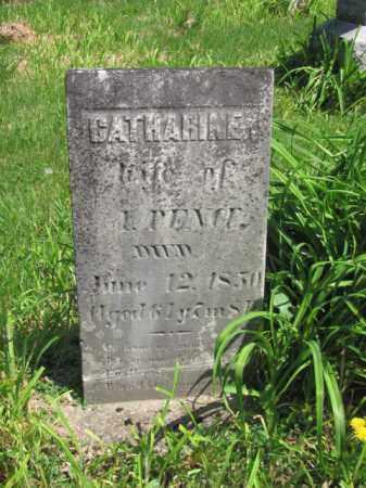 PENCE, CATHERINE - Champaign County, Ohio | CATHERINE PENCE - Ohio Gravestone Photos