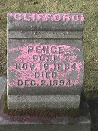 PENCE, CLIFFORD - Champaign County, Ohio | CLIFFORD PENCE - Ohio Gravestone Photos
