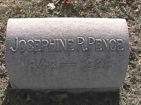 HILL PENCE, JOSEPHINE R. - Champaign County, Ohio | JOSEPHINE R. HILL PENCE - Ohio Gravestone Photos