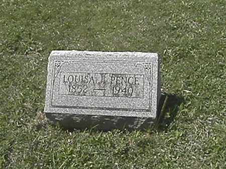 APPLE PENCE, LOUISA JANE - Champaign County, Ohio | LOUISA JANE APPLE PENCE - Ohio Gravestone Photos