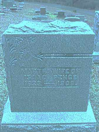 PENCE, MARTHA BROWN - Champaign County, Ohio | MARTHA BROWN PENCE - Ohio Gravestone Photos