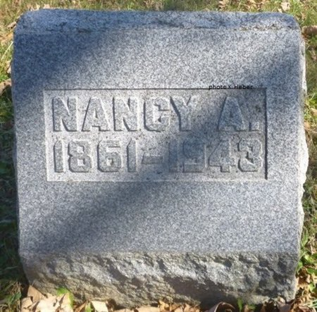 BARGER PENCE, NANCY ANN - Champaign County, Ohio | NANCY ANN BARGER PENCE - Ohio Gravestone Photos
