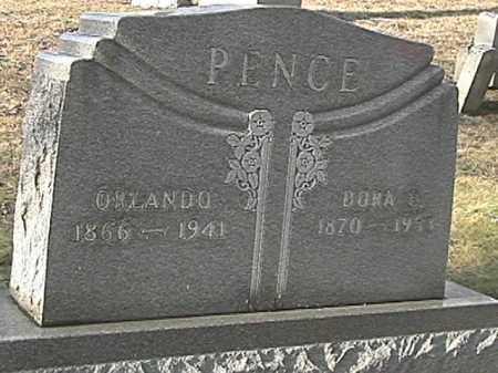 PENCE, DORA ELLEN - Champaign County, Ohio | DORA ELLEN PENCE - Ohio Gravestone Photos