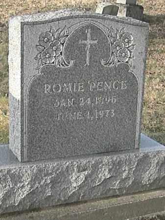 PENCE, ROMIE - Champaign County, Ohio | ROMIE PENCE - Ohio Gravestone Photos