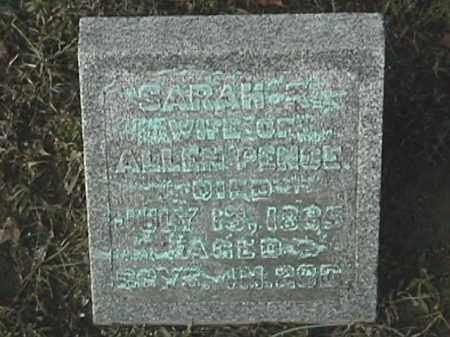 RIKER PENCE, SARAH R. - Champaign County, Ohio | SARAH R. RIKER PENCE - Ohio Gravestone Photos
